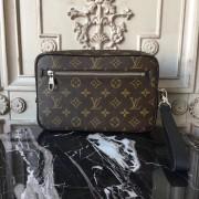 Louis Vuitton M42838 Kasai Clutch Monogram Macassar