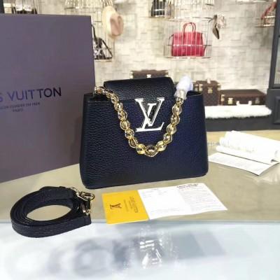 Louis Vuitton M42935 Capucines Mini Chain Taurillon Leather