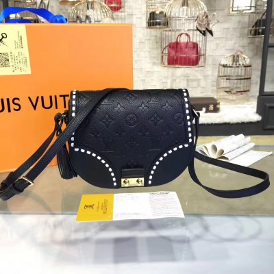 Louis Vuitton M43143 Junot Monogram Empreinte Leather  Noir