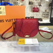Louis Vuitton M43144 Junot Monogram Empreinte Leather Cerise
