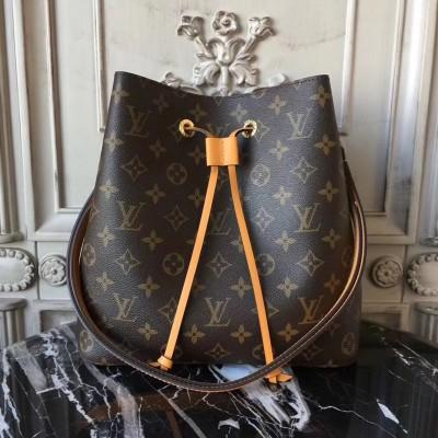 Louis Vuitton M43430 Neonoe Monogram Canvas and Leather Handbag