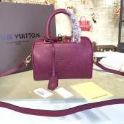 Louis Vuitton M43500 Speedy Bandoulière 20 Monogram Empreinte Leather Raisin