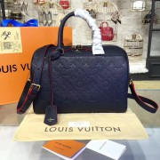 Louis Vuitton M43503 Speedy Bandoulière 30 Monogram Empreinte Leather MARINE ROUGE