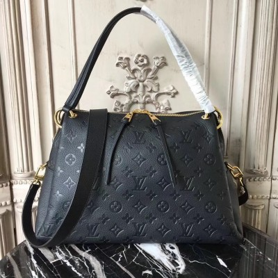 Louis Vuitton M43719 Ponthieu PM Monogram Empreinte Leather Noir
