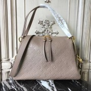 Louis Vuitton M43743 Ponthieu PM Monogram Empreinte Leather Taupe Glace