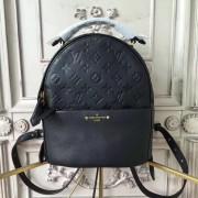 Louis Vuitton M44016 Sorbonne Backpack Monogram Empreinte Leather Noir