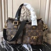 Louis Vuitton M44207 Manhattan Monogram Handbag Noir
