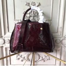 Louis Vuitton M50403 Montaigne BB Monogram Vernis Leather Amarante