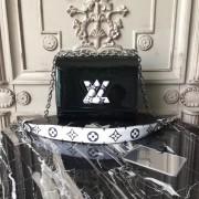 Louis Vuitton M54243 Twist PM Monogram Vernis Leather Noir