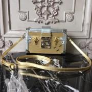 Louis Vuitton M54653 Petite Malle Epi Metallic