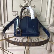 Louis Vuitton M54705 Alma BB Patent Leather Marine