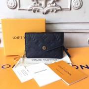 Louis Vuitton M60633 Key Pouch in Monogram Empreinte leather Noir