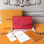 Louis Vuitton M60634 Key Pouch in Monogram Empreinte leather Cherry