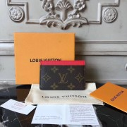 Louis Vuitton M60709 Card Holder Monogram Canvas Cherry