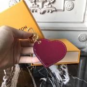 Louis Vuitton M62600 Monogram Vernis Dégradé Heart bag charm  Magenta