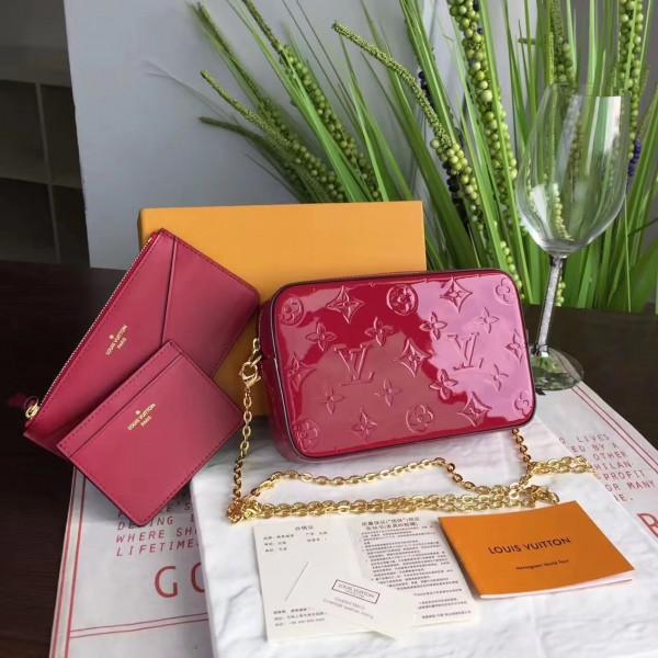 844be0236ba0 Louis Vuitton M64057 CAMERA POUCH Monogram Vernis Leather