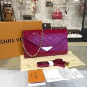 Louis Vuitton M90990 Mira Monogram Vernis Leather Magenta