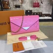 Louis Vuitton M90990 Mira Monogram Vernis Leather  Rose Blush