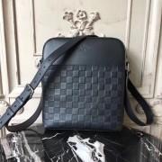 Louis Vuitton N23355 District Pochette Damier Infini Leather