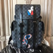 Louis Vuitton N41055 Christopher Backpack PM Damier Graphite