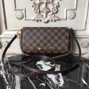 Louis Vuitton N41276 Favorite PM Damier Ebene