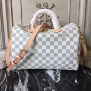 Louis Vuitton N41373 Speedy Bandoulière 30 Damier Azur Canvas