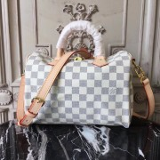 Louis Vuitton N41374 Speedy Bandoulière 25 Damier Azur Canvas