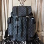 Louis Vuitton N41379 Christopher PM Damier Graphite Canvas