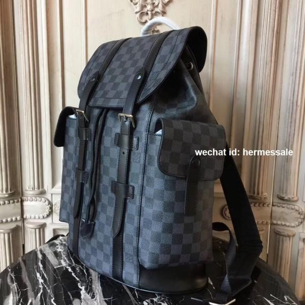 c81422243098 Louis Vuitton N41379 Christopher PM Damier Graphite Canvas