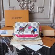 Louis Vuitton N62200 Mini Pochette Accessoires in Damier Azur