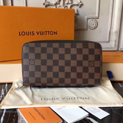Louis Vuitton N63284 Zippy XL Wallet Damier Ebene Canvas