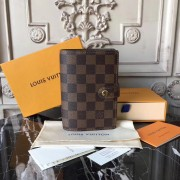 Louis Vuitton R20700 Damier Agenda PM Ebene Brown Business