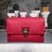 Louis Vuitton M43936 Vavin PM Monogram Empreinte Leather - Scarlet