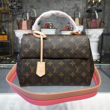 Louis Vuitton M44267 Cluny BB Handbag - Pink