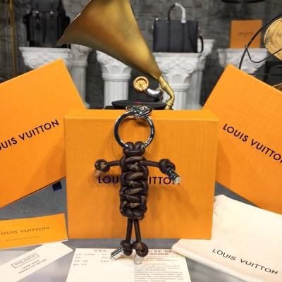 Louis Vuitton M62883 Mr Louis Bag Charm and Key Holder - Brown