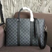 Louis Vuitton N40024 Anton Briefcase Damier Graphite Canvas