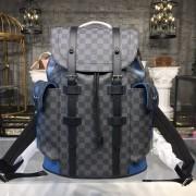 Louis Vuitton N42422 CHRIS.PM D.GRAP.NEON Damier Graphite Canvas