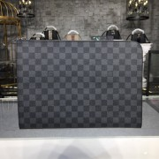Louis Vuitton N64437 Pochette Jour GM Damier Graphite Canvas