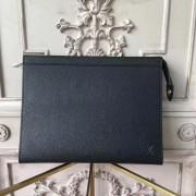 Louis Vuitton M30675 Pochette Voyage MM Taiga Leather
