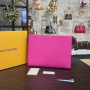 Louis Vuitton M41080 Toiletry Pouch 19 Epi Leather Fuchsia