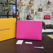 Louis Vuitton M41080 Toiletry Pouch 19 Epi Leather Fuchsia