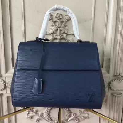 Louis Vuitton M41299 Cluny MM Epi Leather Indigo