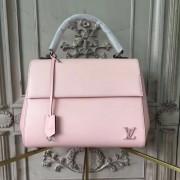 Louis Vuitton M41334 Epi Leather Cluny MM Rose Ballerine