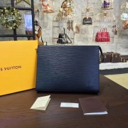 Louis Vuitton M41366 Toiletry Pouch 19 Epi Leather Indigo