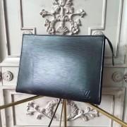 Louis Vuitton M41366 Toiletry Pouch 19 Epi Leather Black