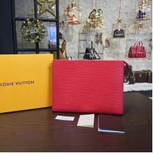 Louis Vuitton M41366 Toiletry Pouch 19 Epi Leather Cherry