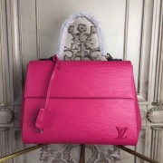 Louis Vuitton M42561 Epi Leather Cluny MM Hot Pink