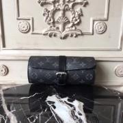 Louis Vuitton M43385 3 Watch Case Monogram Eclipse Canvas