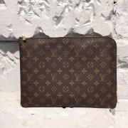 Louis Vuitton M43442 Etui Voyage GM Monogram Brown