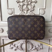 Louis Vuitton M47506 Toilet Pouch GM Monogram Macassar